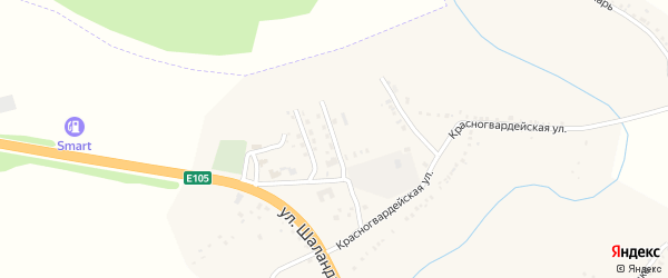 Энергетическая улица на карте поселка Яковлево с номерами домов