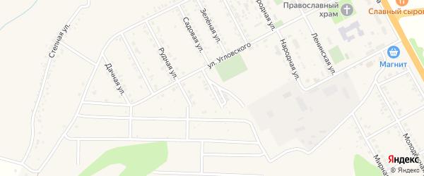 Спортивный переулок на карте поселка Яковлево с номерами домов
