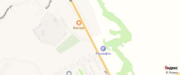 Улица Шаландина на карте поселка Яковлево с номерами домов