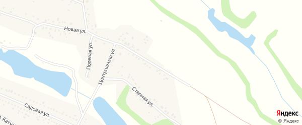 Новая улица на карте села Головино с номерами домов