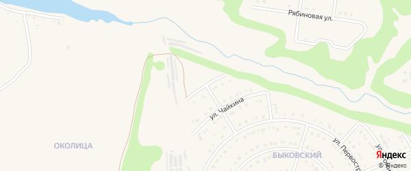 Шахтерская улица на карте Строителя с номерами домов