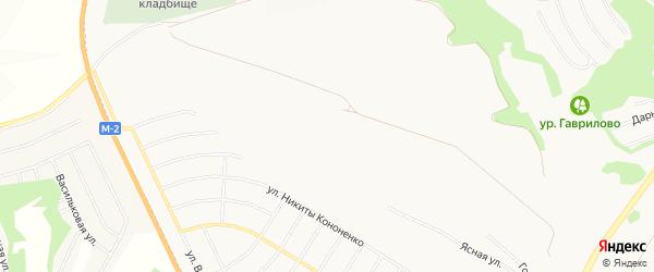 СТ Сухой лог Малинка на карте Белгорода с номерами домов