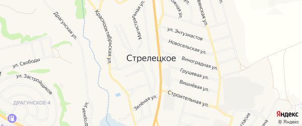 СТ Вита на карте Стрелецкого села с номерами домов