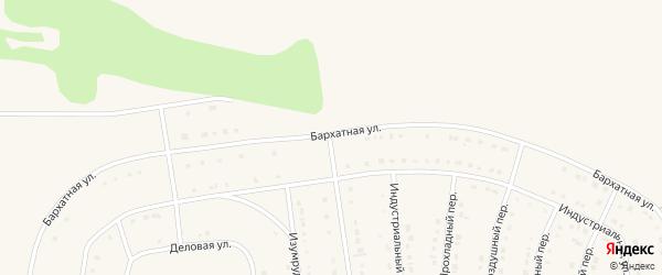 Бархатная улица на карте Строителя с номерами домов