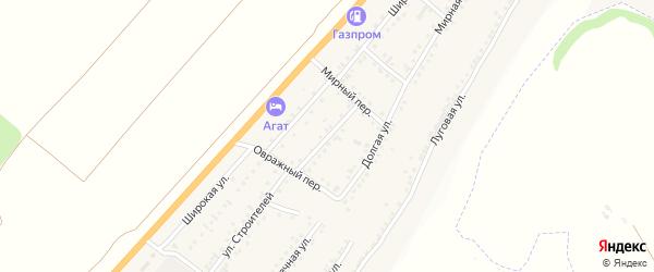 Вишневая улица на карте Майского поселка с номерами домов