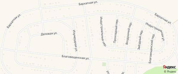 Раздольная улица на карте Строителя с номерами домов