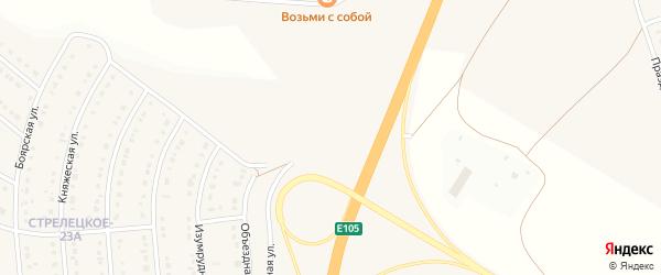 Окружная улица на карте Стрелецкого села с номерами домов