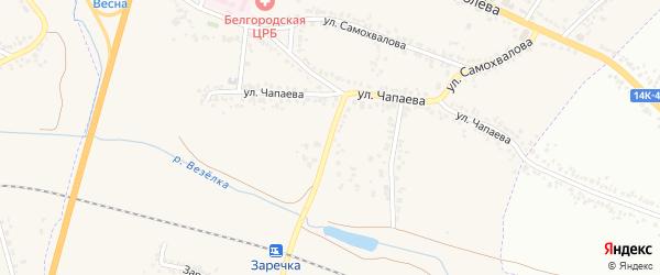 Улица Чапаева на карте Стрелецкого села с номерами домов