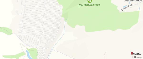 ГСК Березка на карте Строителя с номерами домов