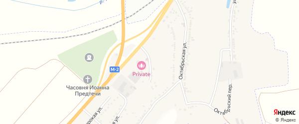 Пионерская улица на карте Майского поселка с номерами домов