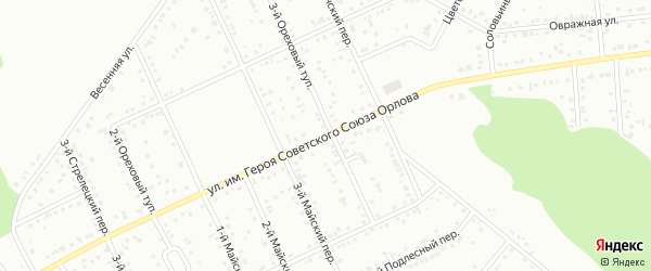 Улица им Героя Советского Союза Хромых В.П. на карте Белгорода с номерами домов