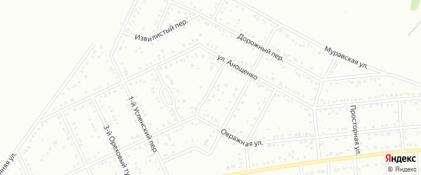 Живописный переулок на карте Белгорода с номерами домов