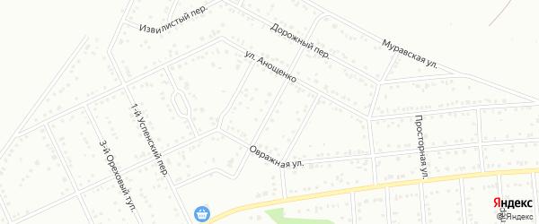 Цветочный переулок на карте Белгорода с номерами домов