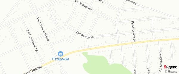 Овражная улица на карте Белгорода с номерами домов