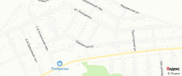 Соловьиный переулок на карте Белгорода с номерами домов