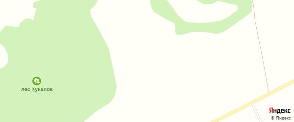 Прудная улица на карте Лозового села с номерами домов