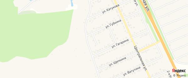 Переулок Губкина на карте Строителя с номерами домов