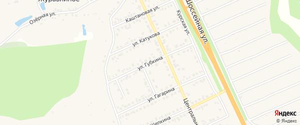 Улица Губкина на карте Строителя с номерами домов