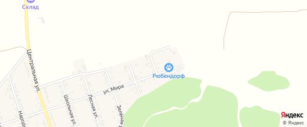 Новый 2-й переулок на карте Репного села с номерами домов