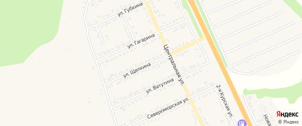 Улица Щепкина на карте Строителя с номерами домов