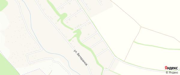 Советский 5-й переулок на карте села Ерика с номерами домов