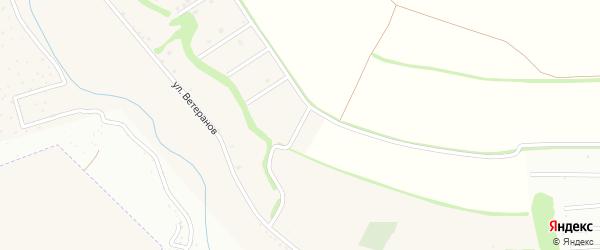 Советский 8-й переулок на карте села Ерика с номерами домов