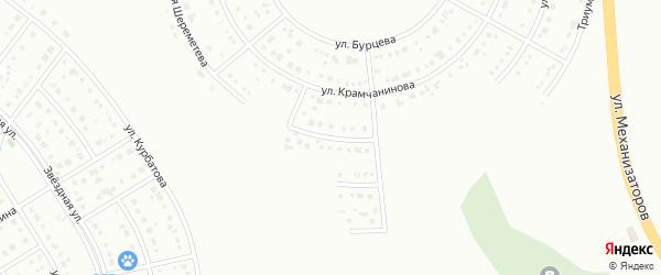 Ромашковый 3-й тупик на карте Белгорода с номерами домов