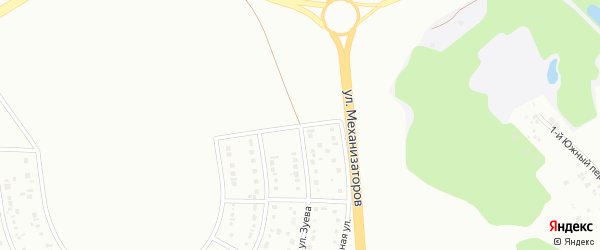 Триумфальная улица на карте Белгорода с номерами домов