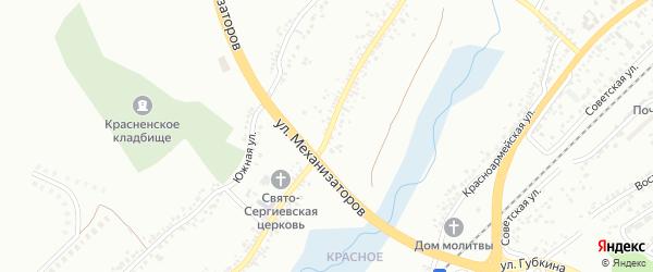 Улица 8 Марта на карте Белгорода с номерами домов