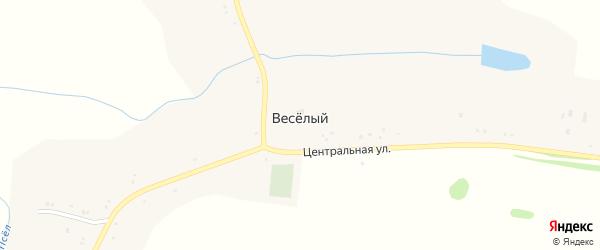 Дорожная улица на карте Веселого хутора с номерами домов
