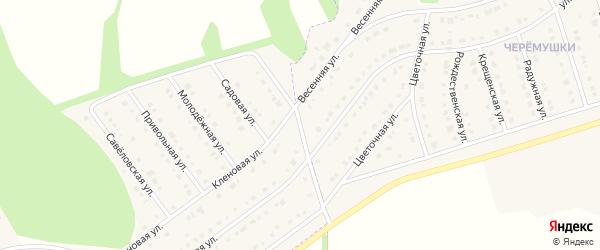 Магистральная улица на карте села Новой Нелидовки с номерами домов