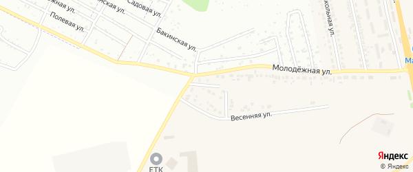 Молодежный переулок на карте Северного поселка с номерами домов
