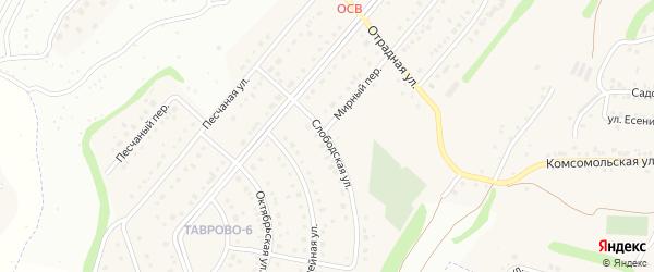 Слободская улица на карте Таврово 6-й микрорайона с номерами домов