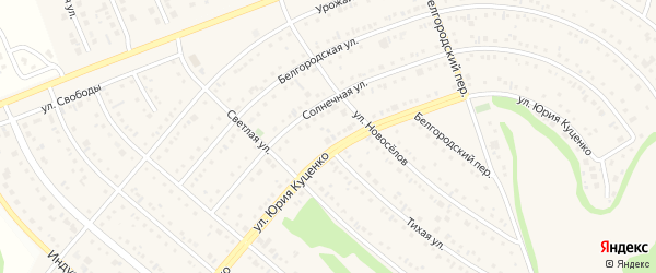 Гражданский переулок на карте Таврово 7-й микрорайона с номерами домов