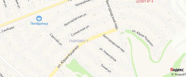 Улица Ю.Куценко на карте Таврово 7-й микрорайона с номерами домов