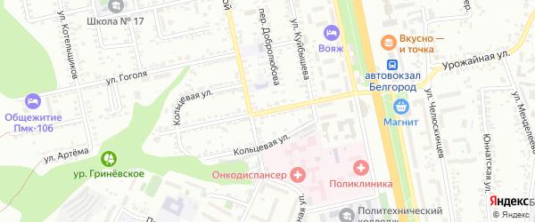 Улица Александра Невского на карте Белгорода с номерами домов