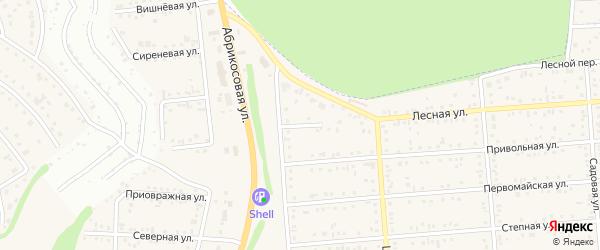 Северный переулок на карте Таврово 2-й микрорайона с номерами домов