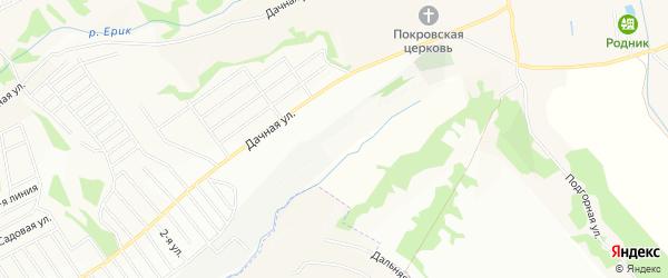 СТ Нива на карте Строителя с номерами домов