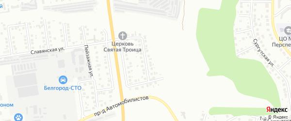 Улица им Ломакина Г.Я. на карте Белгорода с номерами домов