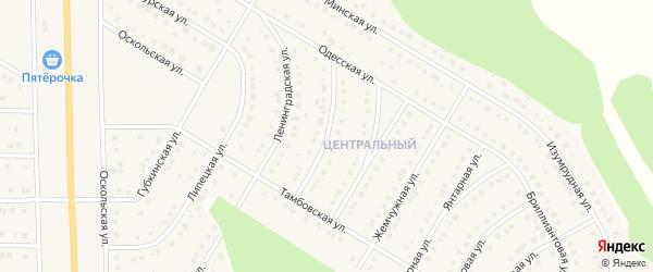 Тульская улица на карте Никольского села с номерами домов