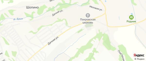 ГСК Надежда на карте Строителя с номерами домов