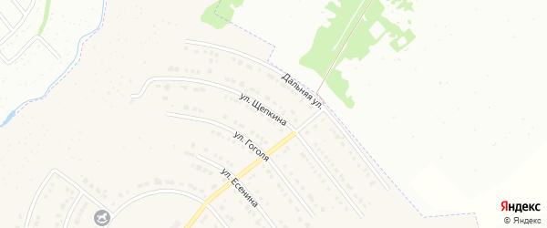 Улица Щепкина на карте Северного поселка с номерами домов