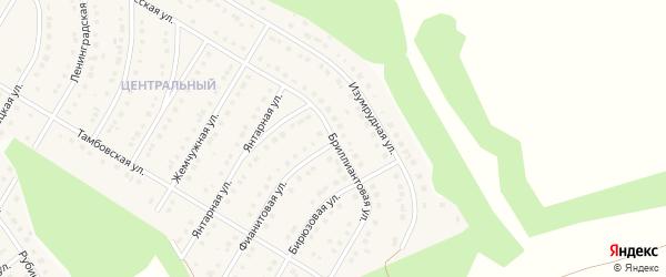 Бриллиантовая улица на карте Никольского села с номерами домов