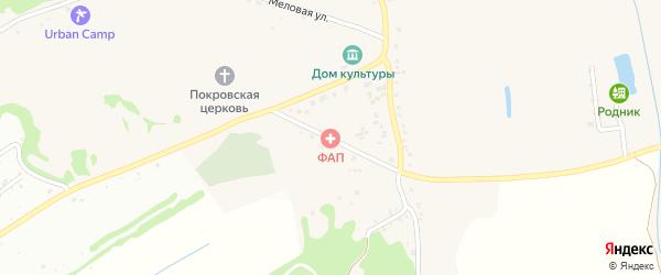 Школьный переулок на карте села Шопино с номерами домов