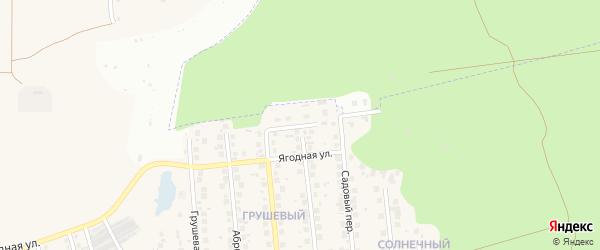 Цветочный переулок на карте поселка Дубового с номерами домов