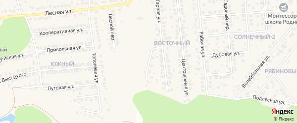 Приовражная улица на карте поселка Дубового с номерами домов