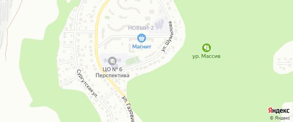 Улица им Шумилова М.С. на карте Белгорода с номерами домов
