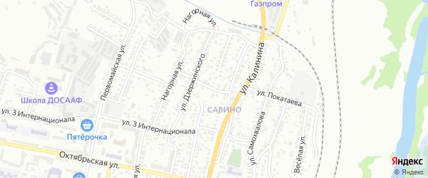 Улица Покатаева на карте Белгорода с номерами домов