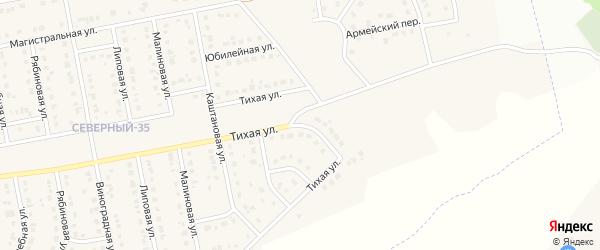 Магистральный 2-й переулок на карте Северного поселка с номерами домов