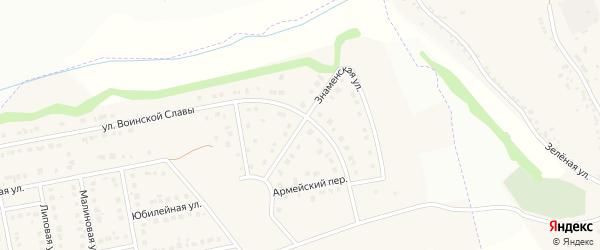 Знаменская улица на карте Северного поселка с номерами домов